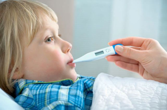 Главная температура у ребенка повышается 5 день счет